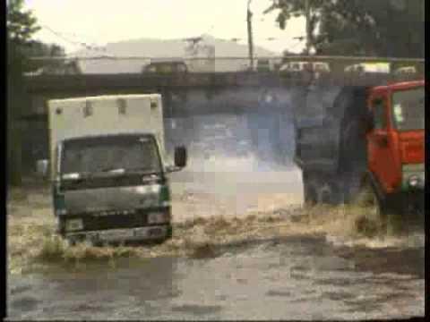 видео: Наводнение во Владивостоке  7 августа 2001 г
