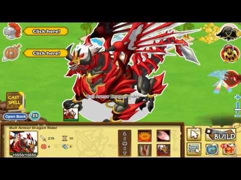 Hack Social Empires Bull Armor Dragon Rider