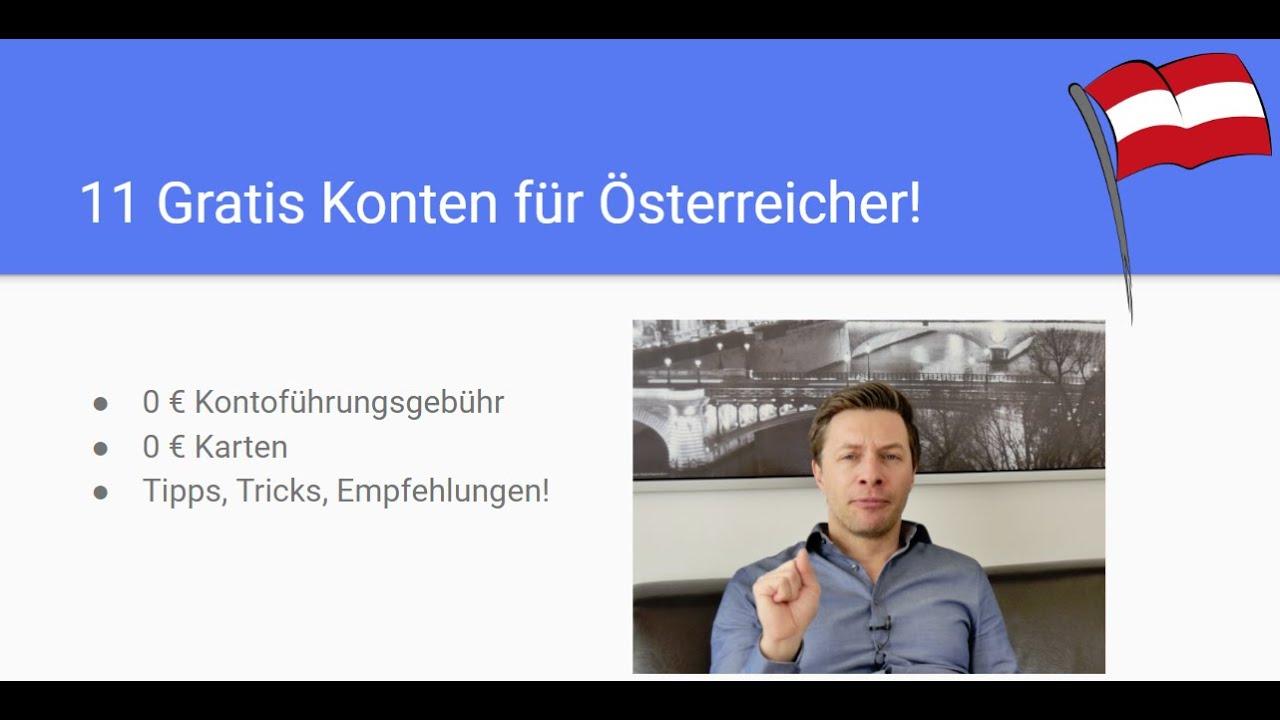 Gratis Konto In österreich 11 Kostenlose Girokonten Vorgestellt