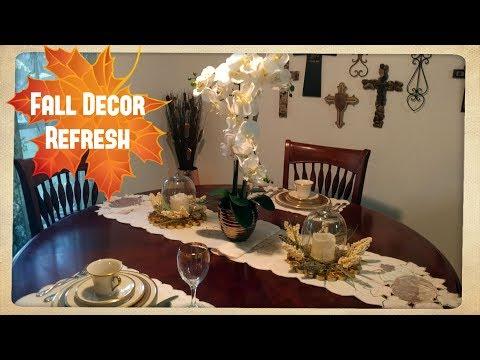 Fall Decor Home Tour Neutral Colors | My Aunt's Home Tour
