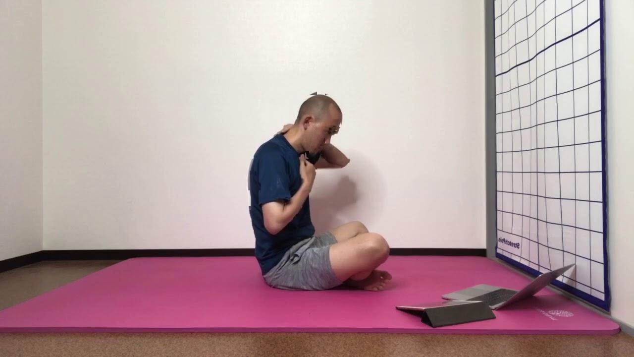 首肩調整と体幹(部分カット)