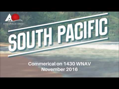 Annapolis Opera | South Pacific Commerical on 1430 WNAV