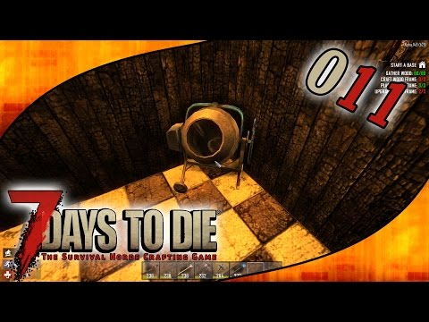 Let's Play 7 Days To Die #S01E011 - Endlich ein Zementmischer [Gameplay German Deutsch]