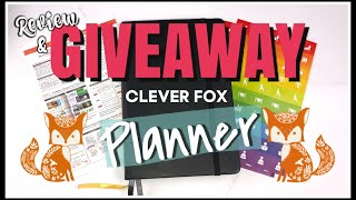 GIVEAWAY CLOSED 🦊 CLEVER FOX PLANNER REVIEW & GIVEAWAY! | Country Girl