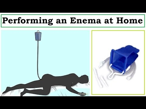 How to Perform an Enema | Using a Home Enema Kit