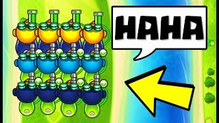 meet the most TERRIBLE lategame strategies ever.... (Bloons TD Battles)