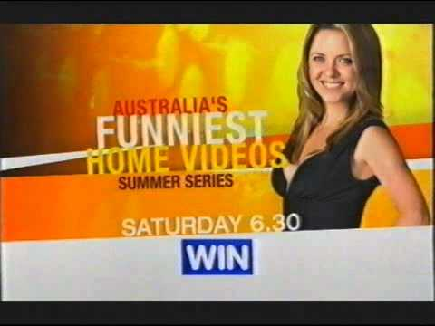 WIN Television   Australia's Funniest Home Videos Signpost & Ident - (30.01.2008)