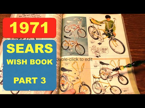 ASMR - 1971 SEARS WISH BOOK - Part 3