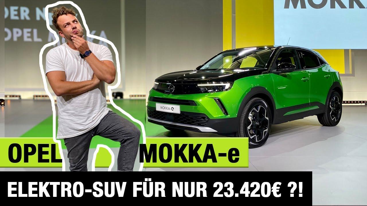 2021 Opel Mokka-e (136 PS) 🔋🔌 Elektro-SUV für nur 23.420€?! 🤯 Review | Test | kein Fahrbericht 🏁