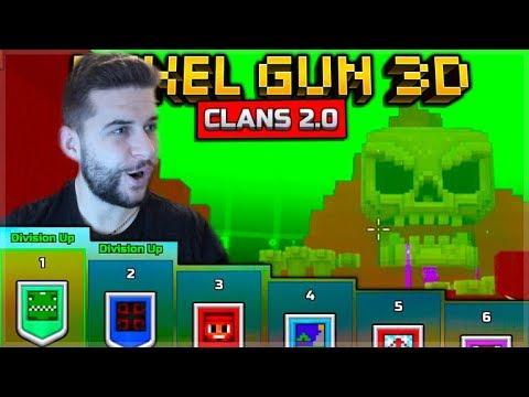 🔴Pixel Gun 3D   NEW Clan 2.0 UPDATE LIVE Wars 1 V 1 Duels & Battle Royale🔴