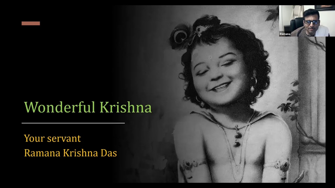 Wonderful Krishna - By Raman Krishna Das