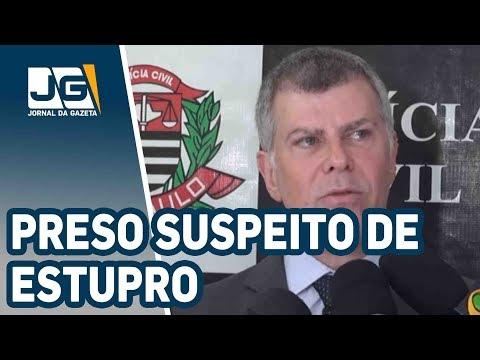 Preso suspeito de estuprar menina no Ipiranga