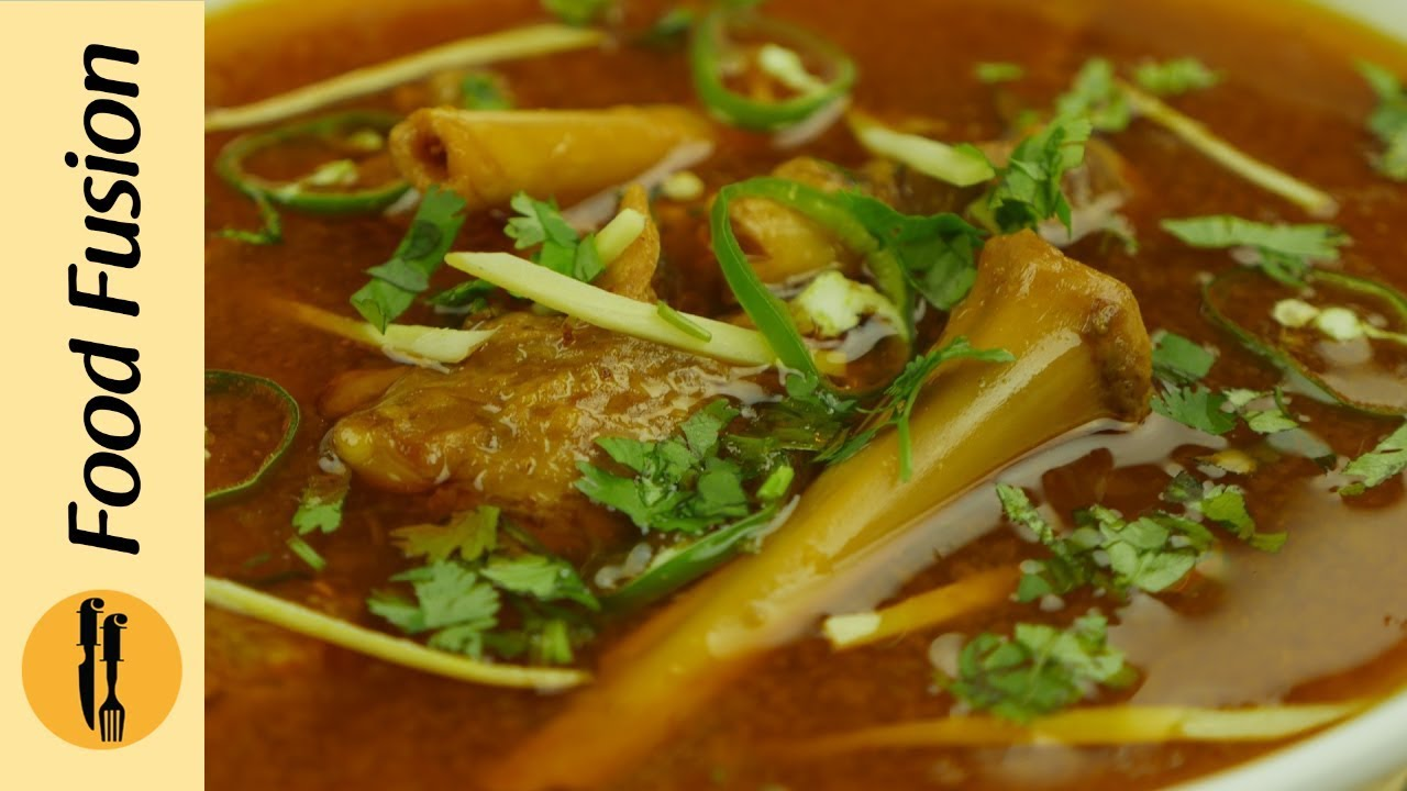 Mutton paya recipe by food fusion youtube mutton paya recipe by food fusion forumfinder Choice Image