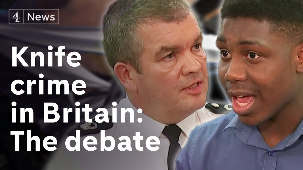Is the UK in a knife crime crisis?