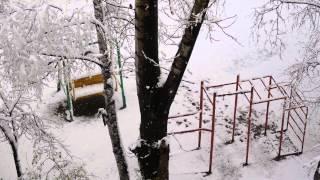 Снег в мае 2015, Хабаровск