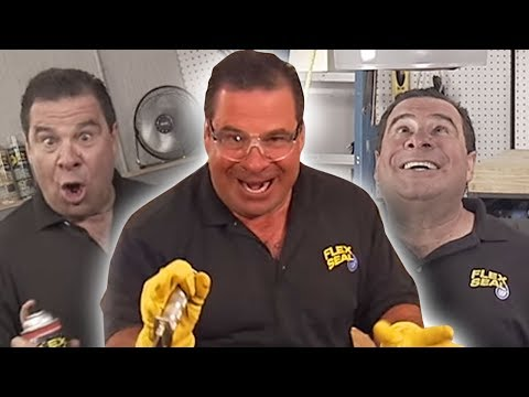 SOMEONE STOP THIS MADMAN! Flex Tape