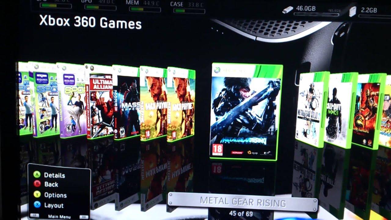Xbox 360 Slim 4gb Jtag Youtube