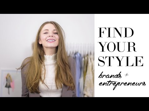 How to find your style for creative entrepreneurs and online entrepreneurs