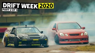 Hert's in Love With his 2JZ GS300. Tandem Shredding with Chairslayer and Adam LZ! Drift Week 2 Ep.2