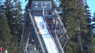{Whistler 2010 Olympics} World Cup Ski Jumping Jan. 25, 2009