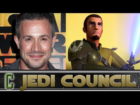 Collider Jedi Council - Freddie Prinze Jr aka Kanan Live In Studio!!