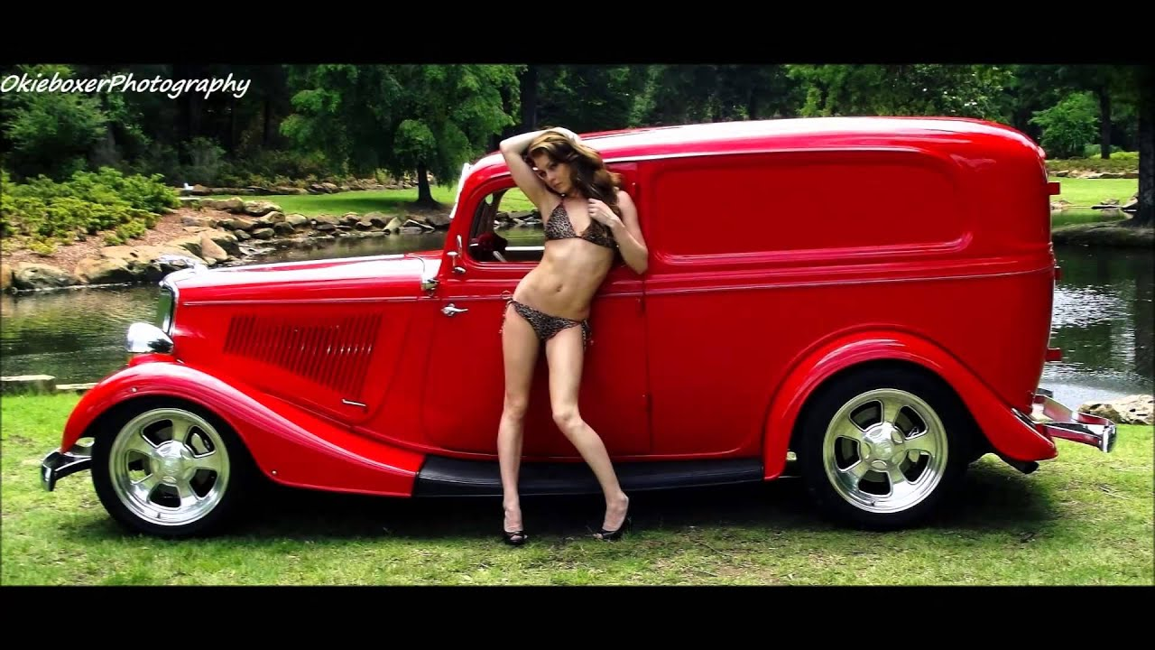 girls Hot rod cars and