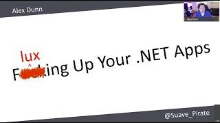 Fluxing Up Your .NET Apps - Alex Dunn - NDC Oslo 2020