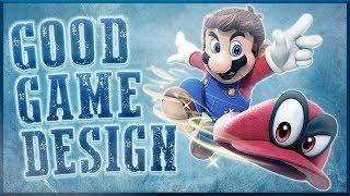 Good Game Design - Super Mario Odyssey