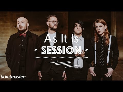 As It Is - 'The Stigma (Boys Don't Cry)' | Ticketmaster Session