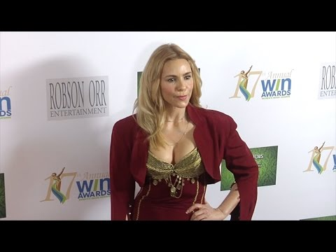 Olivia d'Abo 17th Annual Women's  Awards Red Carpet in Los Angeles