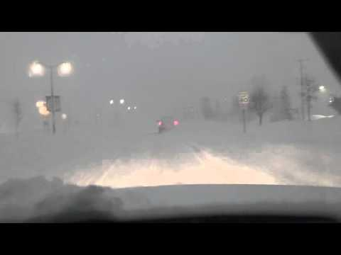 driving in snow and blizzard conditions 2/2/2016