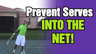 Tennis Serve - How To Prevent Serves In The Net