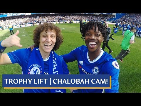CHELSEA PLAYER CAM CELEBRATIONS! ACCESS ALL AREAS FOR THE PREMIER LEAGUE PITCH PARTY