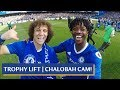 CHELSEA PLAYER CAM CELEBRATIONS  ACCESS ALL AREAS FOR THE PREMIER LEAGUE PITCH PARTY