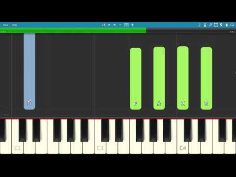 PARTYNEXTDOOR ft. Drake - Come And See Me - Piano Tutorial