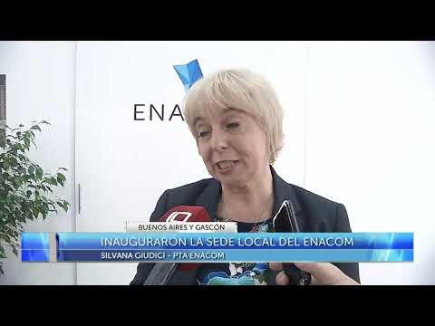Inauguración de la sede local del ENACOM