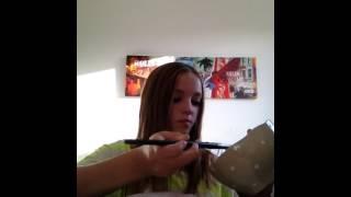 DIY glitter skål