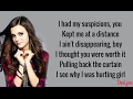 INVISIBLE - Christina Grimmie | Sam Tsui, KHS, Tiffany Alvord COVER (Lyrics)