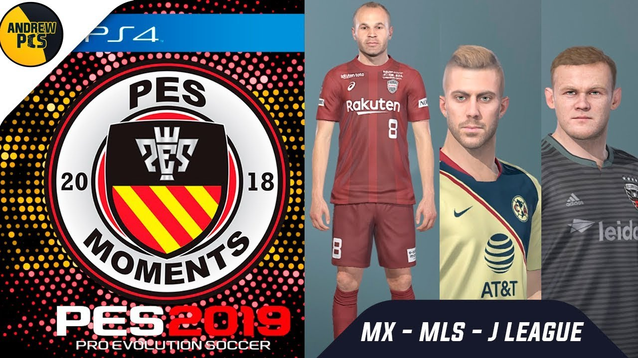 Pes 19 option file mls | How To Install PES 2019 PS4 Option Files