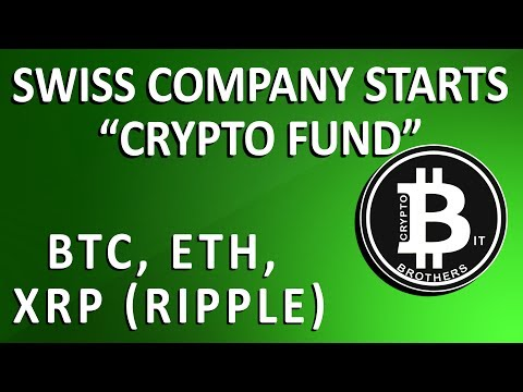 Swiss Company Finds Way to Combine Crypto into a Financial Type Fund
