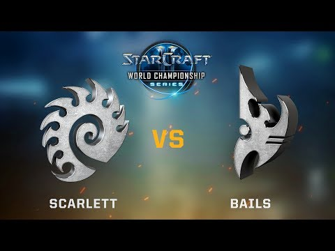 StarCraft 2 - Scarlett vs. Bails (ZvP) - WCS Jönköping Challenger NA - Playoffs Day #1 Ro16