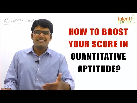 How to Boost your Score in Quantitative Aptitude? | Bank & SSC 2018 Exams | TalentSprint