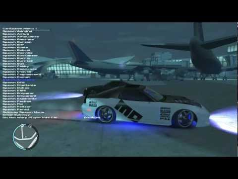 GTA IV Mod Menu Gameplay+Download (ONLY for PC) - YouTube