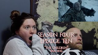 """Hogwarts Reacts:Game of Thrones S04E10 - """"The Children"""" (part one)"""