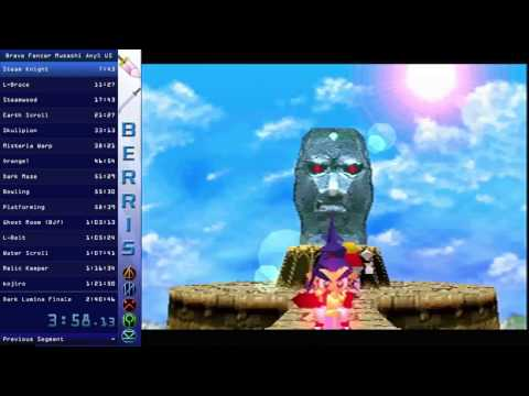 Brave Fencer Musashi Any% Speed Run [Outdated PB] 2:40:22