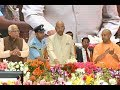 President Kovind lays foundation stone of NHAI projects in Varanasi