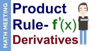Product rule - Calculus derivatives tutorial