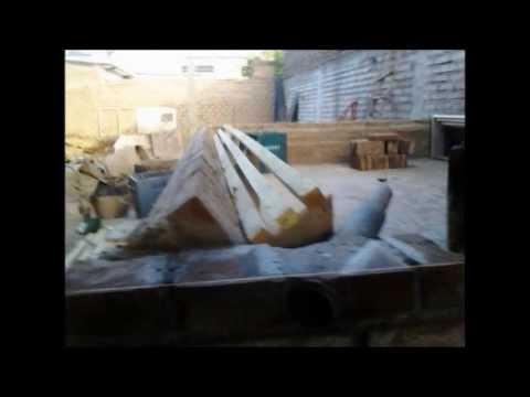Construcción de mi horno de barro Mario Montenegro jr