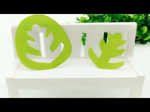 DIY hand-cut paper, one pattern two works, small tree and branches for children's