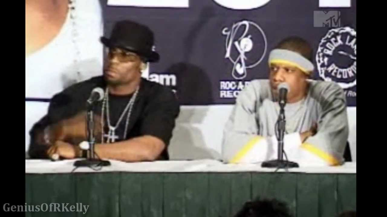 r kelly jay z best of both worlds press conference 2002 r kelly jay z best of both worlds press conference 2002